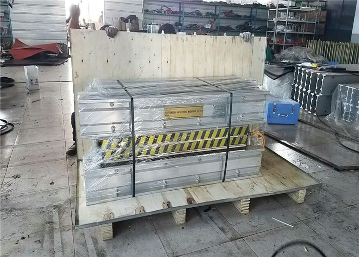 Portable 18 Kw Conveyor Belt Vulcanizing Machine For Power Plants Customized Size